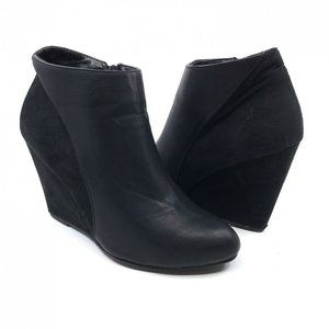 Madden Girl ZUMBA Vegan Leather Wedge Ankle Bootie